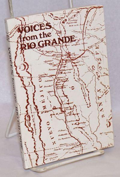 Albuquerque: Rio Grande Writers Association, 1976. Paperback. 122p., small softbound in 7x4.5 inch d...