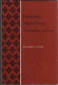 image of Holderlin's Major Poetry  The Dialectics of Unity