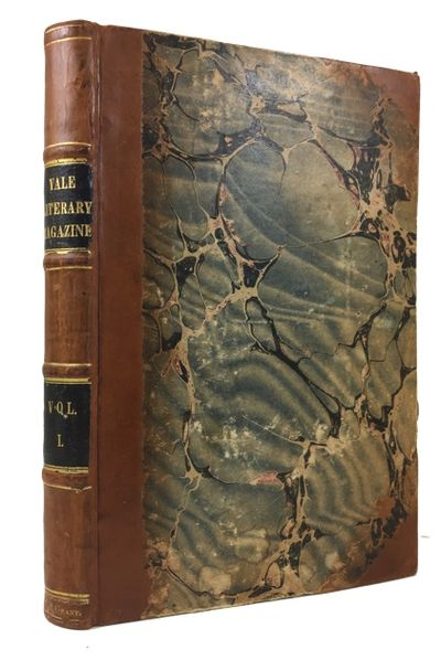 New Haven: Herrick & Noyes, 1836. Hardcover. Very Good. iv, 256p. Original wrappers bound in. Contem...