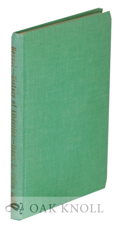 New Brunswick, NJ: The Scarecrow Press, 1955. cloth. 8vo. cloth. xxiv, 198 pages. Translated from th...