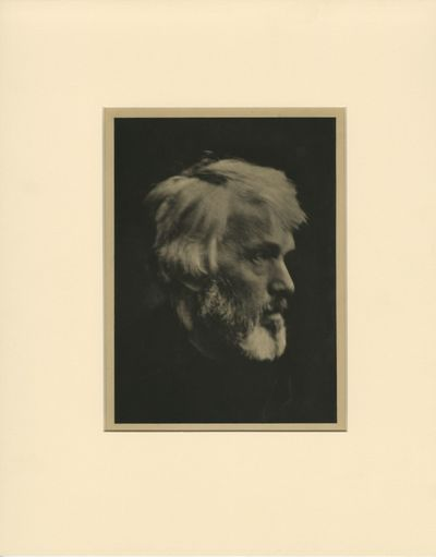 Cameron, Julia Margaret. Hand-pulled photogravure, image size 8 X 6 1/8 in. Archivally matted with w...