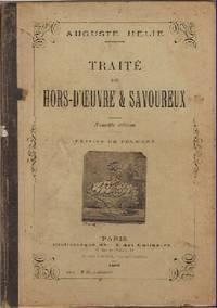 Traite des Hors-D'oeuvre & Savoureux. Nouvelle edition. Dessins de Froment