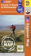 image of Forest of Bowland and Ribblesdale (OS Explorer Map Active)