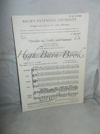 Awake us, Lord, and Hasten (SATB) [English and Welsh version]