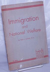 image of Immigration and national welfare