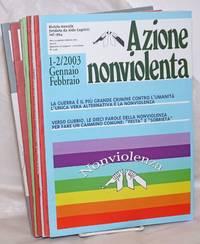 image of Azione nonviolenta (Nonviolent action). 2003:  1-12