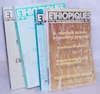 image of Ethiopiques: revue trimestrielle de culture négro-africaine [four issues]