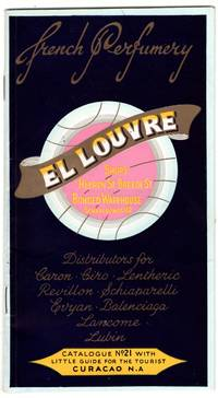 Trade catalog for Curacao tourist shopping destination for French perfumes, El Louvre