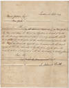 View Image 2 of 5 for CRONYISM IN THE EARLY REPUBLIC - A letter and shipping document from the American Legation in London... Inventory #009733