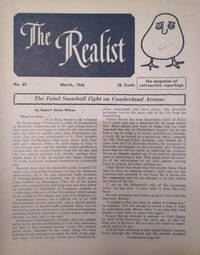 image of The Realist, No. 65, March, 1966