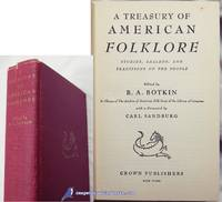 image of A Treasury of American Folklore: Stories, Ballads, and Traditions of the  People
