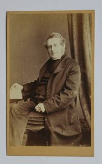 Carte De Visite Photograph: Portrait of a Clergyman.