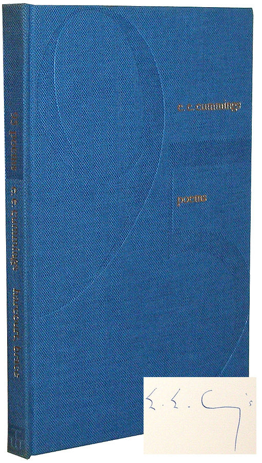 E.E. Cummings 95 Poems 1958 10th Printing HC DJ