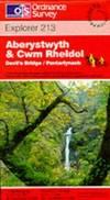 image of Aberystwyth and Cwm Rheidol (Explorer Maps)