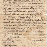The Last Will and Testament of Diplomat, Secretary of War and Treasury, and Presidential Adviser William H. Crawford He disposes of he debts and ensures his childrens education.