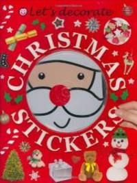 Let's Decorate Christmas Stickers