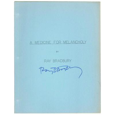 A Medicine for Melancholy [Playscript]