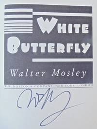 WHITE BUTTERFLY (SIGNED)