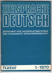 Zielsprache Deutsch  Zeitschrift Für Unterrichtsmethode Und Angewandte Sprachwisschenschaft