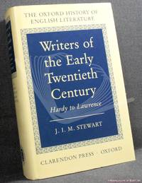 image of Writers of the Early Twentieth Century: Hardy to Lawrence