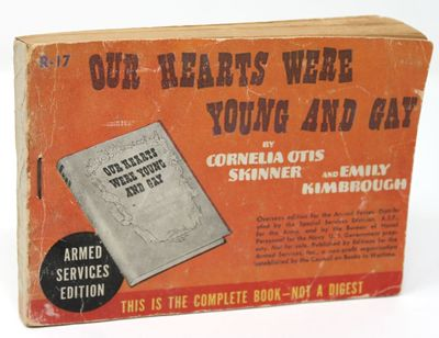 New York: Editions for Armed Services, Inc., 1942. Paperback. Fair. Armed Services Edition R-17. Wra...