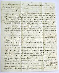 AUTOGRAPH LETTER SIGNED FROM WESTMORELAND, JAMAICA, JUNE 2, 1820, TO HIS SOLICITOR, ARCHIBALD CRAWFURD, EDINBURGH, REGARDING HIS JAMAICA PLANTATION BUSINESS, CROPS, AND SLAVES