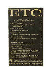 ETC.: A Review of General Semantics; Special Issue on the Psychedelic Experience