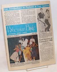 Bohemian Bugle: Las Vegas, Reno & Tahoe; vol. 11, #6, June 1988; Gay Troubadours to perform at Four Queens