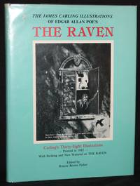 THE JAMES CARLING ILLUSTRATIONS OF EDGAR ALLAN POE'S THE  RAVEN