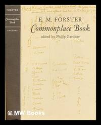 Commonplace book by  E.M. (Edward Morgan) (1879-1970) Forster - First Edition - 1985 - from MW Books Ltd. (SKU: 296508)