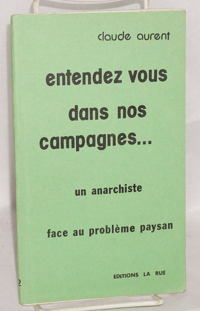 Paris: Editions la Rue, 1975. 53p., stapled wraps, 5x8.25 inches, wraps lightly worn else very good ...