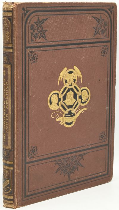 , 1875. Hard Cover. Good binding. Division IV only of Edward King's The Southern States of America, ...