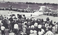 History of the Lear Jet, From First Flight to Its Famous Round the World Record An Archive of scores of historical documents, some unpublished, showing great moments in its development and marketing