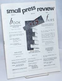 image of Small Press Review: review of small-press publications; vol. 7, #3, Whole Number 27, April 1975
