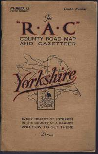 The RAC County Road Map and Gazetteer: Number 13 Yorkshire