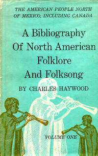 image of A Bibliography of North American Folklore and Folksong (two volumes)