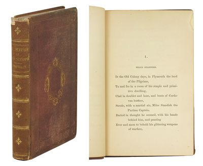 8vo. Boston: Ticknor & Fields, 1858. 8vo, , -215 pp. Original purple blind-stamped publisher's clo...