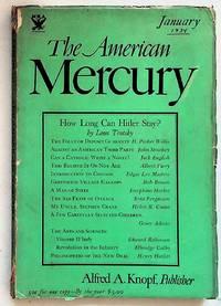 The American Mercury Volume XXXI, Number 121, January 1934