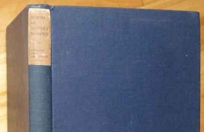 1911. London: Sidgwick & Jackson, 1911. Original very dark blue cloth with paper spine label. First ...