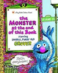 image of The Monster at the End of this Book (Sesame Street) (Big Little Golden Book)
