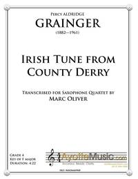 Irish Tune From County Derry (Sax)
