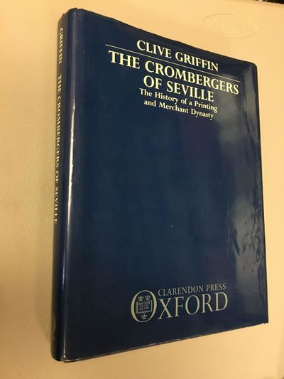 Oxford: Clarendon Press, 1988. First Edition. Hardcover. Quarto, 270 pages; VG/VG-; spine dark blue ...