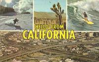 Hello from California, unused Postcard