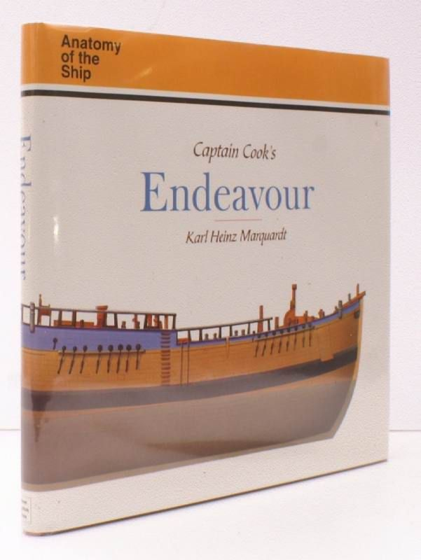 Anatomy of the Ship. Captain Cook\'s Endeavour. NEAR FINE COPY IN ...