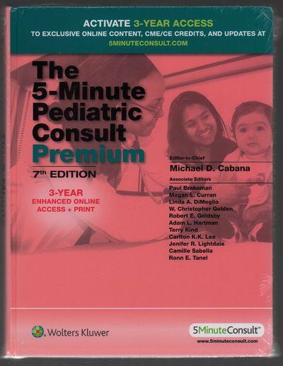 Abaa The 5 Minute Pediatric Consult Premium 3 Year Enhanced