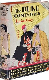 Garden City: Doubleday Doran, 1933. Hardcover. Near Fine/Very Good. First edition. Small book label ...