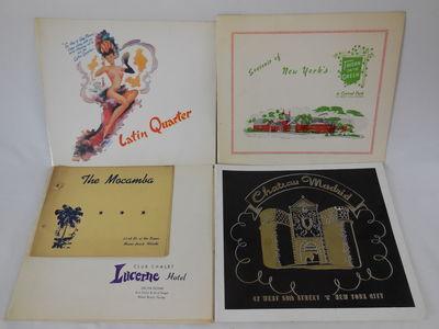 Five Original Night Club Souvenir...