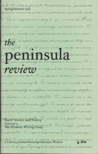 image of The Peninsula Review Spring Summer 1997 Short Stories and Poetry