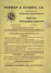 View Image 1 of 2 for NEWMAN & GUARDIA, LTD.: MANUFACTURERS OF SCIENTIFIC INSTRUMENTS AND HIGH-CLASS PHOTOGRAPHIC APPARATU... Inventory #29830