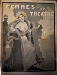 Femmes de Théâtre (dessins humoristiques) prologue d'Yvette Guilbert